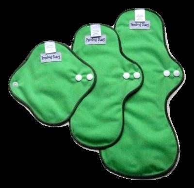 Green Starter set - Cloth Pads