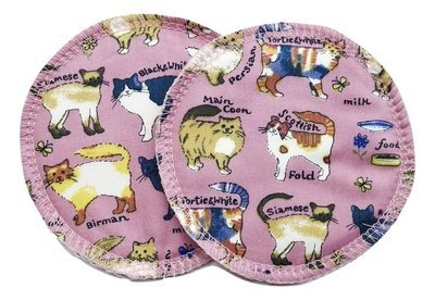 Pink Cats - Breast pads