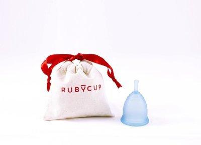 Ruby Cup, Blue, Medium