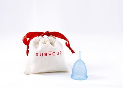 Ruby Cup, Blue, Small