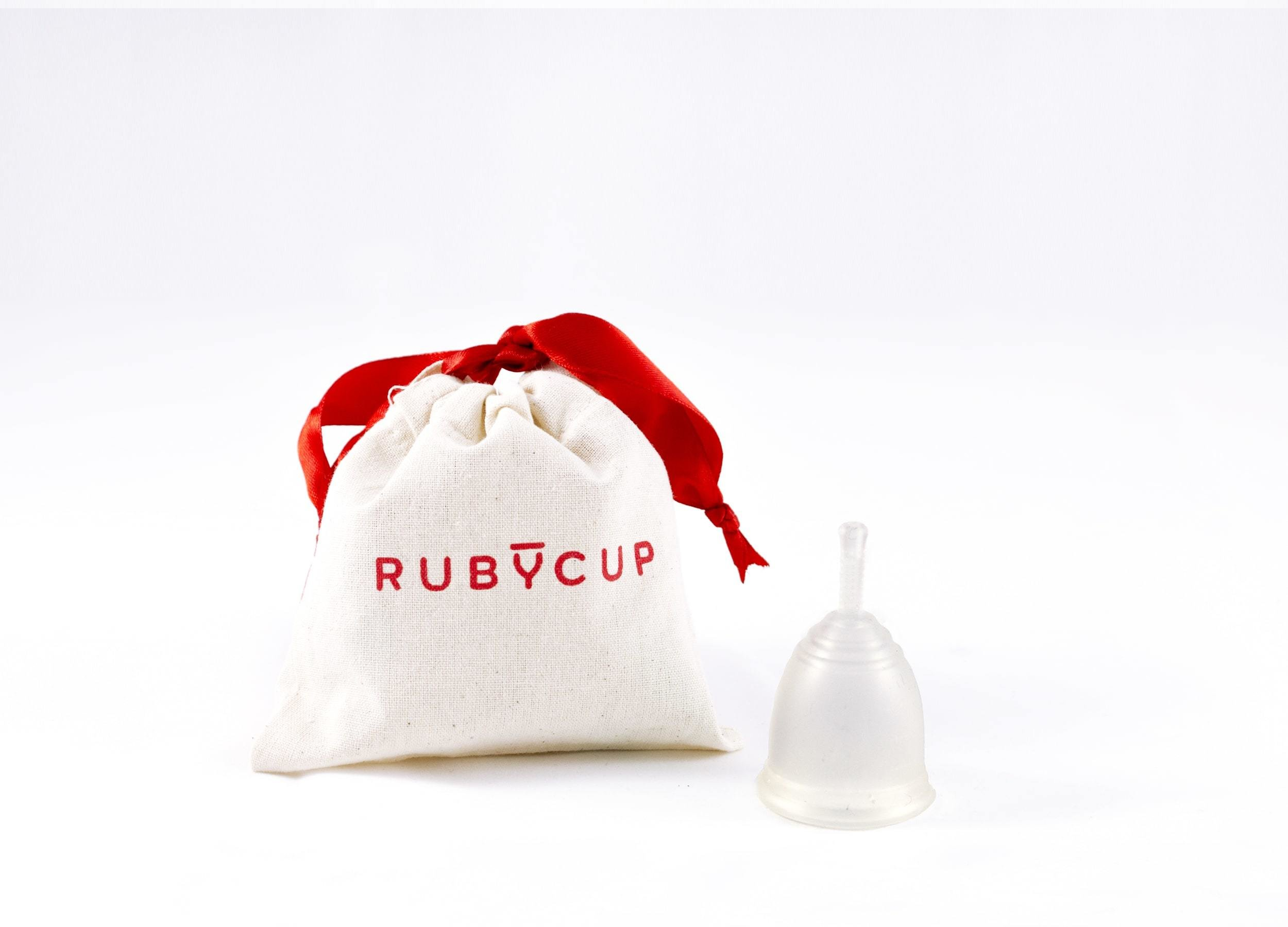 Ruby Cup, Clear, Small 00863