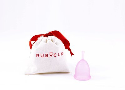 Ruby Cup, Pink, Small