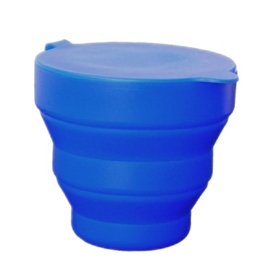 (Blue) Foldable sterilising cup