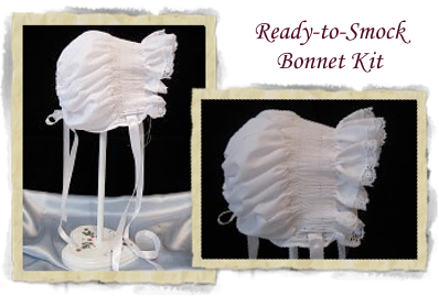 BRD Ready-to-Smock Bonnet