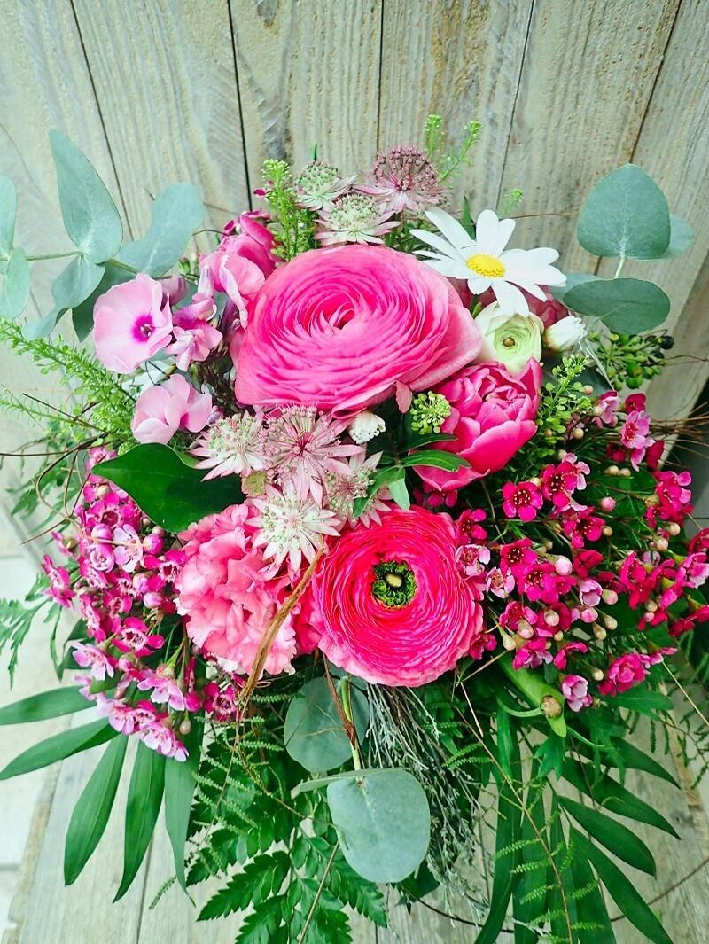 Blumenstrauss rosa