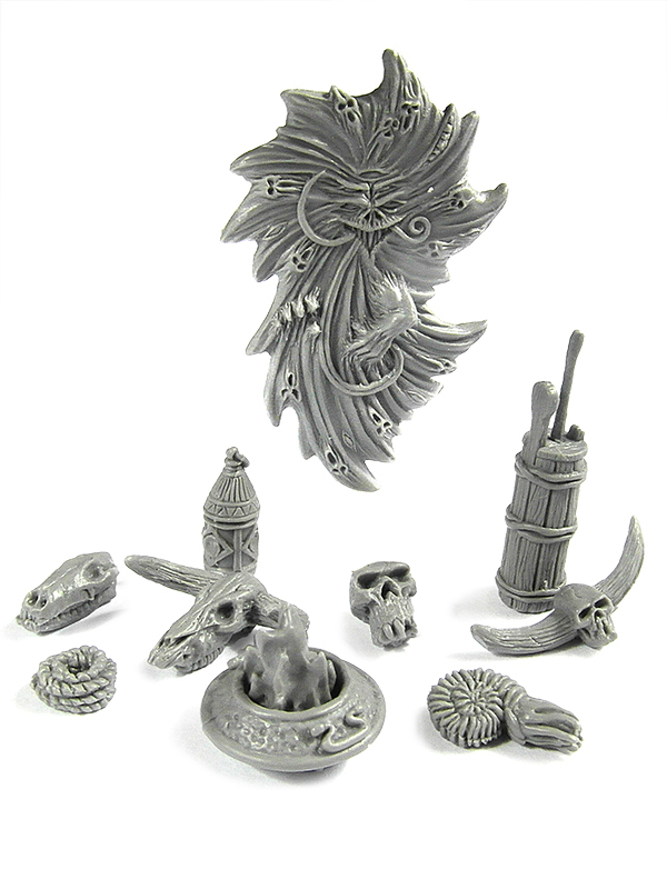 New Dungeon Clutter from Zealot Miniatures 407491653