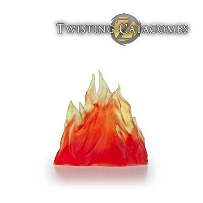 Fire Wall (Clear Resin)