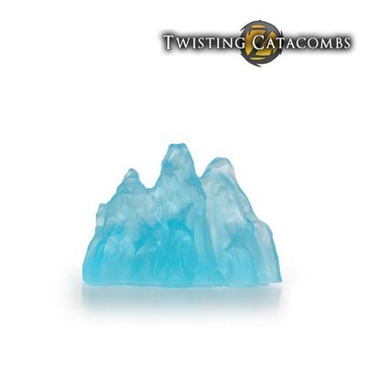 Ice Wall (Clear Blue            Resin)