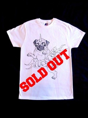 Unicorn Pug Tshirt - SOLD OUT