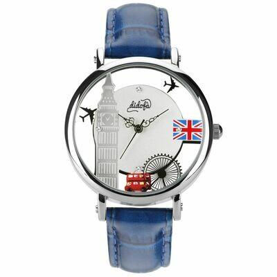 orologio didofà glam blu