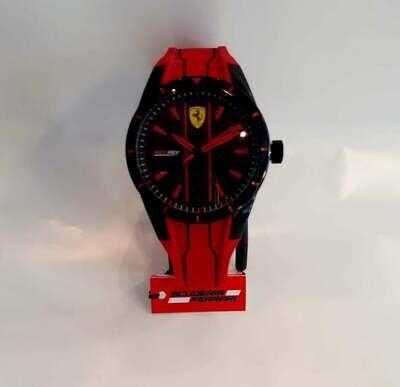 orologio ferrari redrev rosso nero