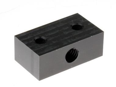 Derlin Nut Block (for 8mm threaded rod)