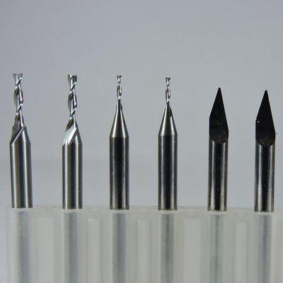 Bit Set for Fine Detail Engraving