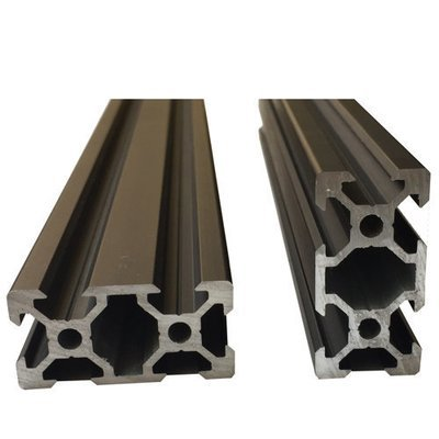 V Slot Aluminium Extrusion 2040 (Black)