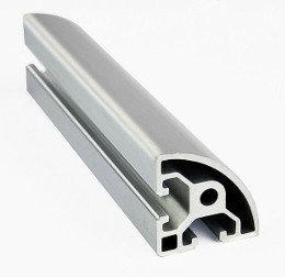 T-Slot Half Round Aluminum Profile 20x20mm