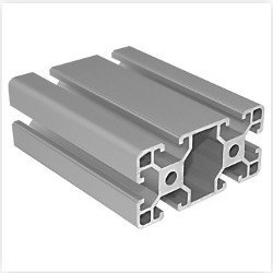 T Slot Aluminium Extrusion 40x80 mm (Heavy)