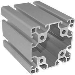 T Slot Aluminium Extrusion 80x80 mm (Light)