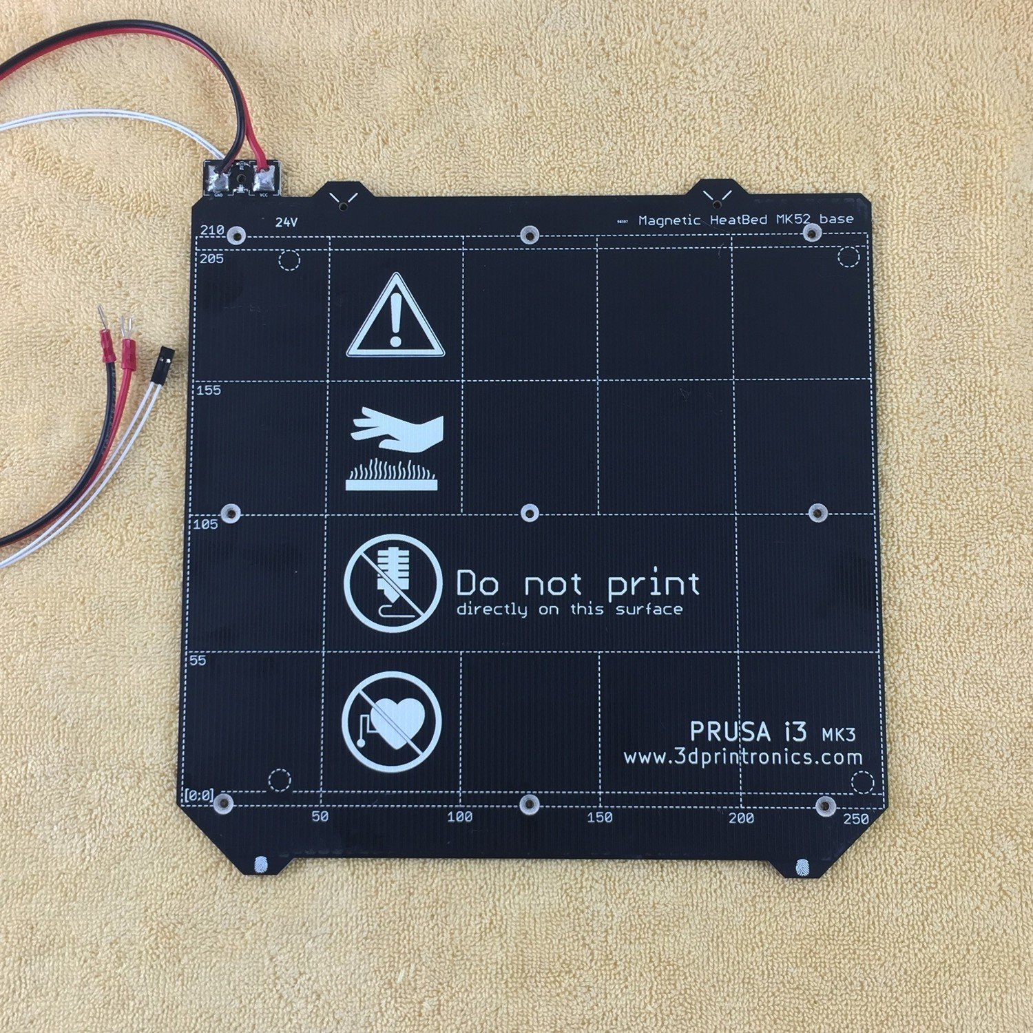 Prusa i3 Mk52 Heated Bed