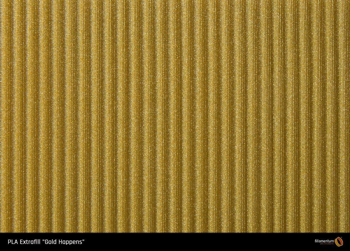 """Fillamentum PLA Extrafill """"Gold Happens"""" 1.75"""