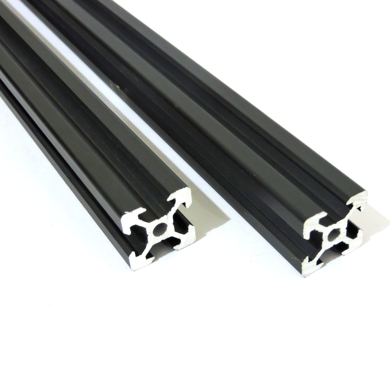 V Slot Aluminium Extrusion 2020 (Black)