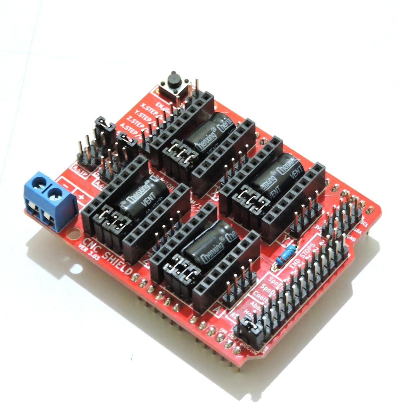 Arduino CNC Shield V3 51 - 0 9 GRBL Compatible