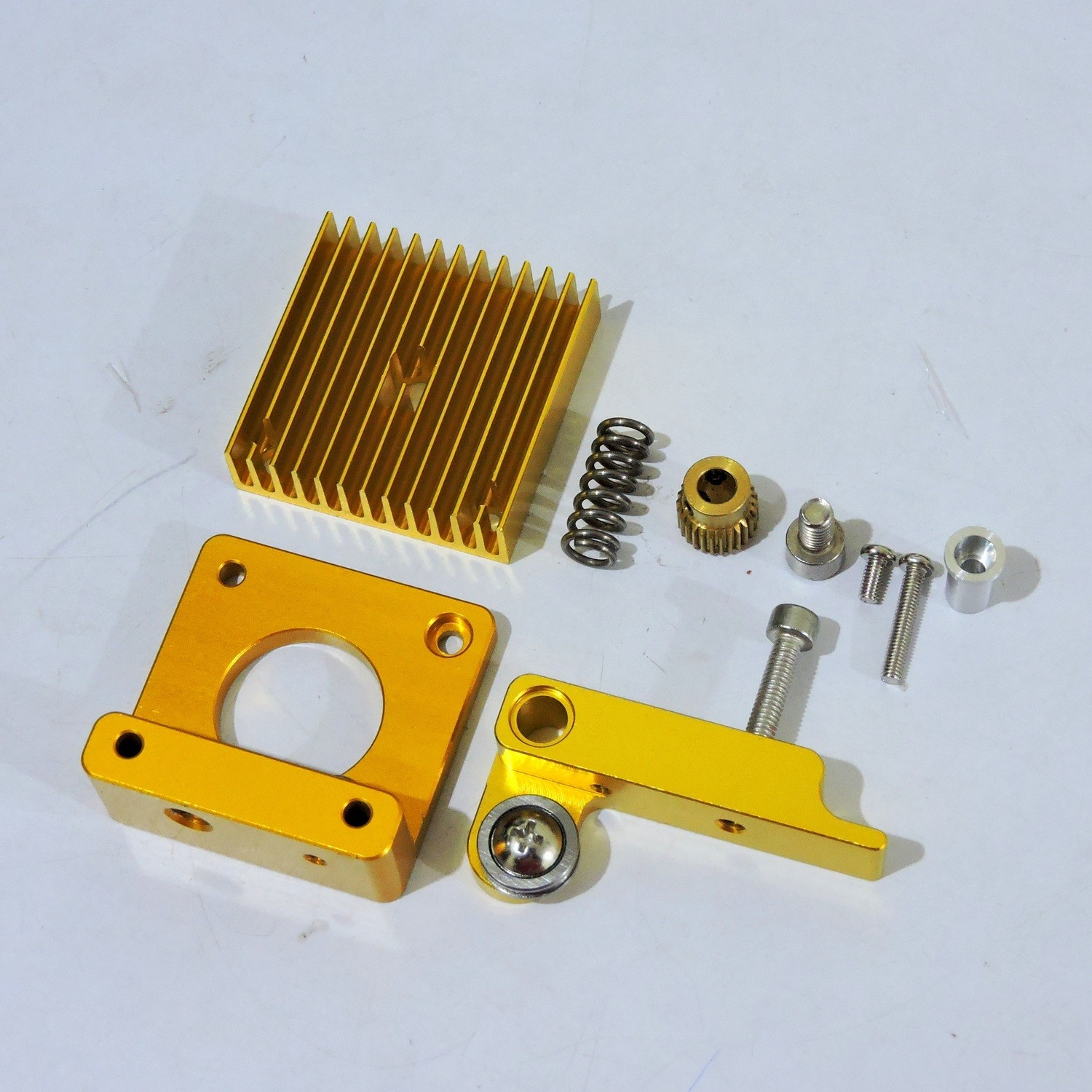 MK8  Extruder Filament Pulling Mechanism