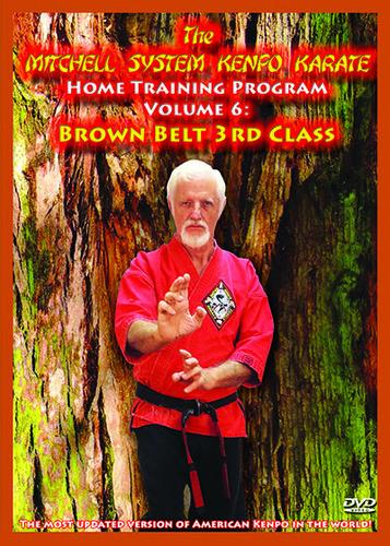 Home Training Program Volume 6: 3rd Class Brown Belt