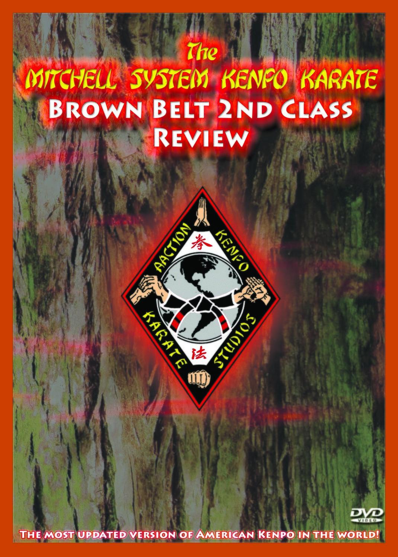 Mitchell Kenpo: 2nd Class Brown Belt Review