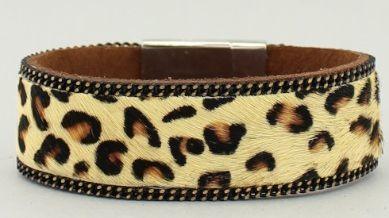 Leopard Wrap Bracelet JW-5BYM05BRNRD