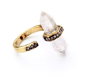 Vos Crystal Cuff Ring EUS-JVCL-004