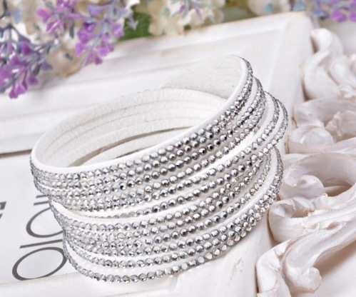 Harding Wrap Bracelet - White N1-99309