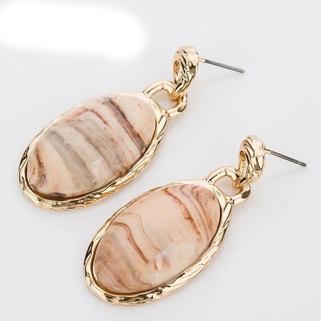 Pembroke Earrings - Natural MJC-20008