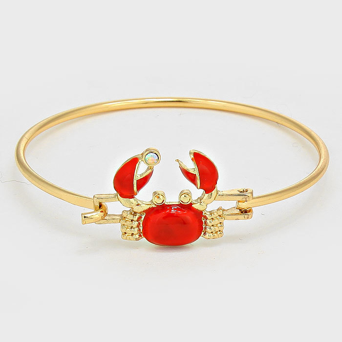Red Crab Bangle WT-284312