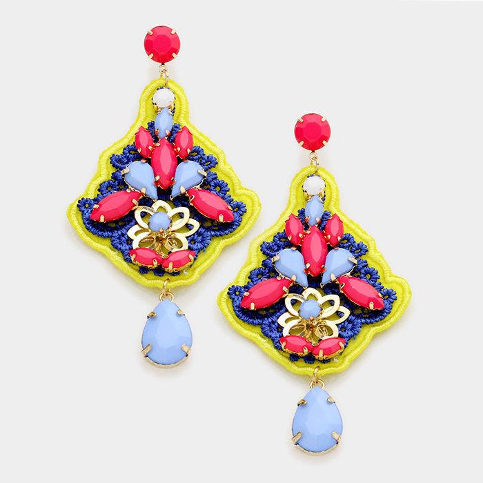 Gypsy Yellow - Earrings WT-344383