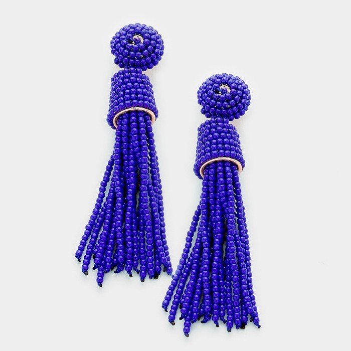 Halstead - New-Cobalt Earrings WT-333814