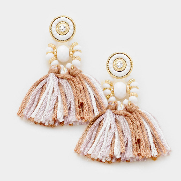 Carmen Earrings - Natural WT-346900