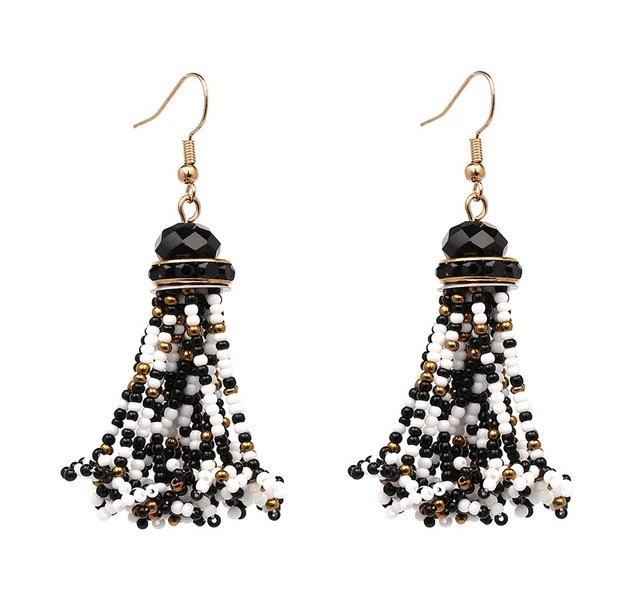 Salt & Pepper Earrings JJ-20511