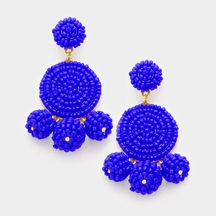 Casey Blue Earrings WT-340649