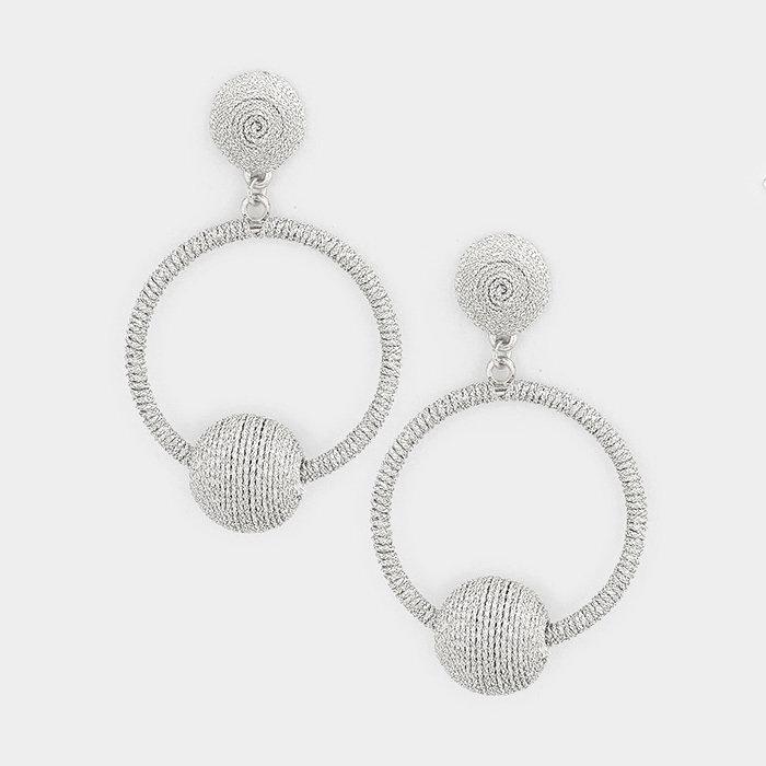 Early Dawn Earrings - Silver WT-350000