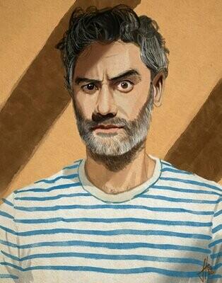 Taika Waititi Portrait
