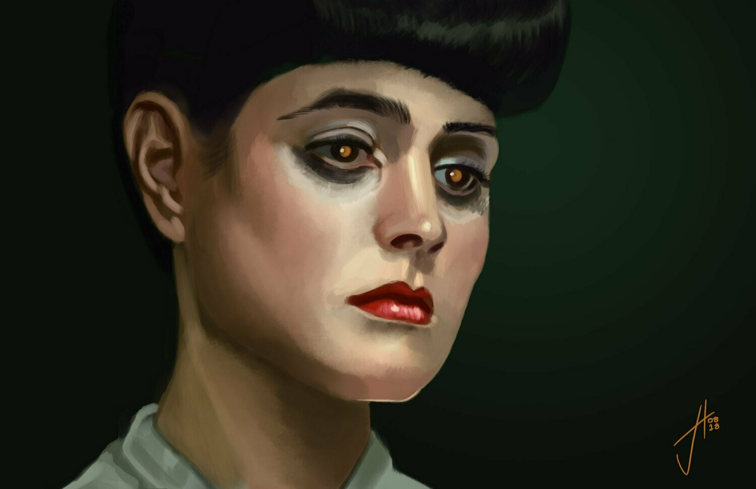 Blade Runner Rachel Sean Young Art Print