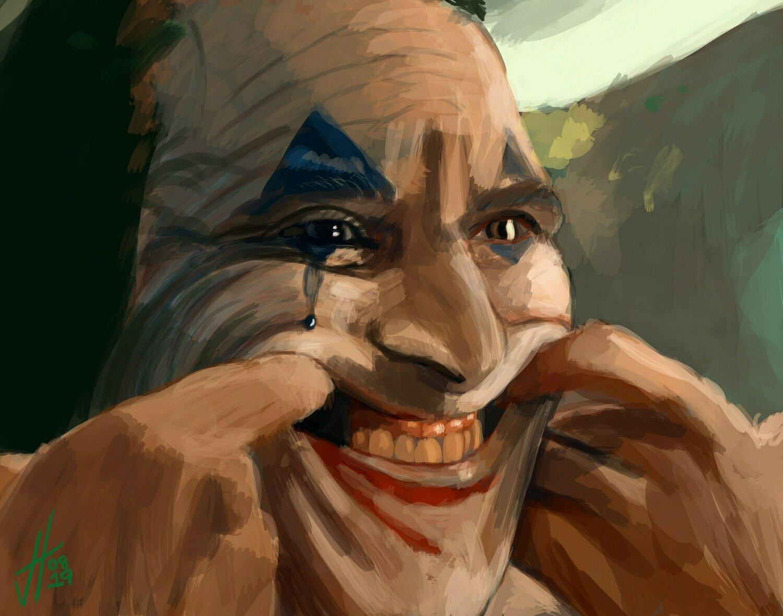Joker movie Art Print Joaquin Phoenix