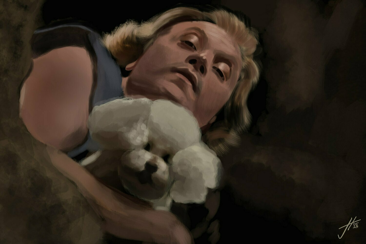 Buffalo Bill Silence of the Lambs Art Print