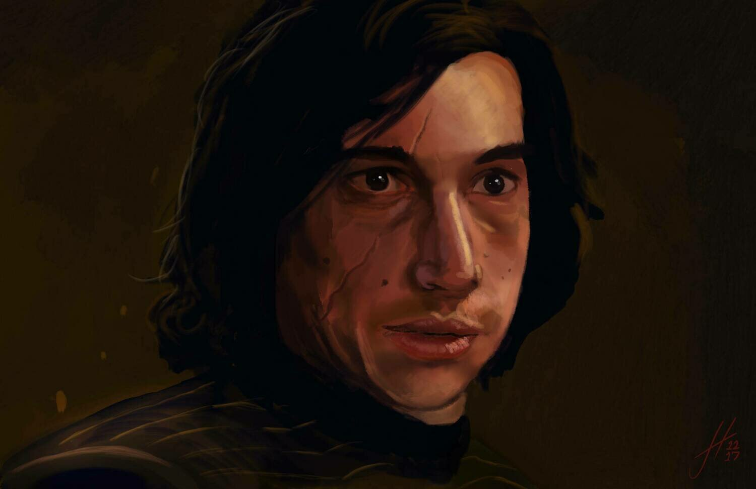 Star Wars Kylo Ren Art Print