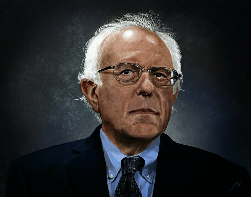 Bernie Sanders Art Print Painting
