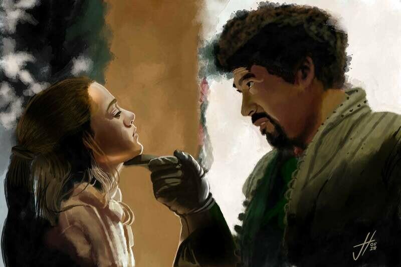 Game of Thrones Arya Stark Art Print