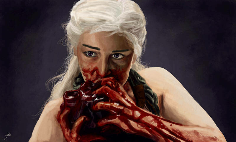 Daenerys Targaryen Art Print
