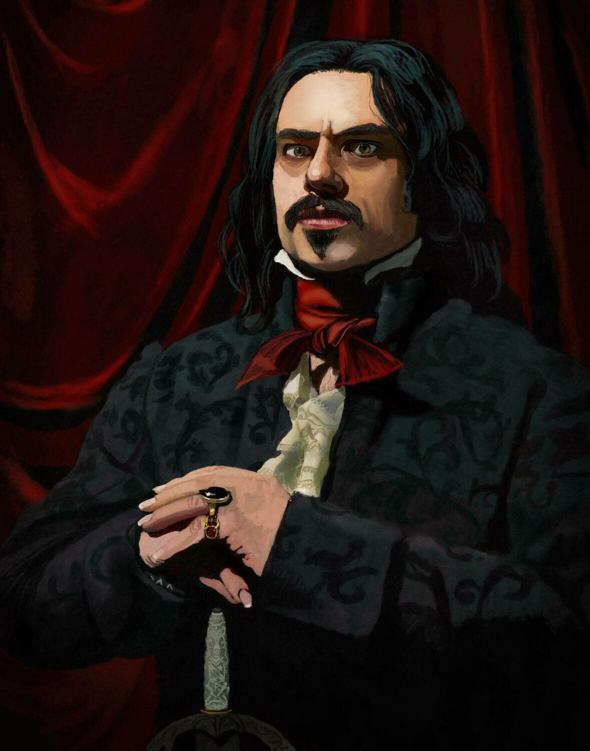 What We Do In the Shadows Vlad Art Print