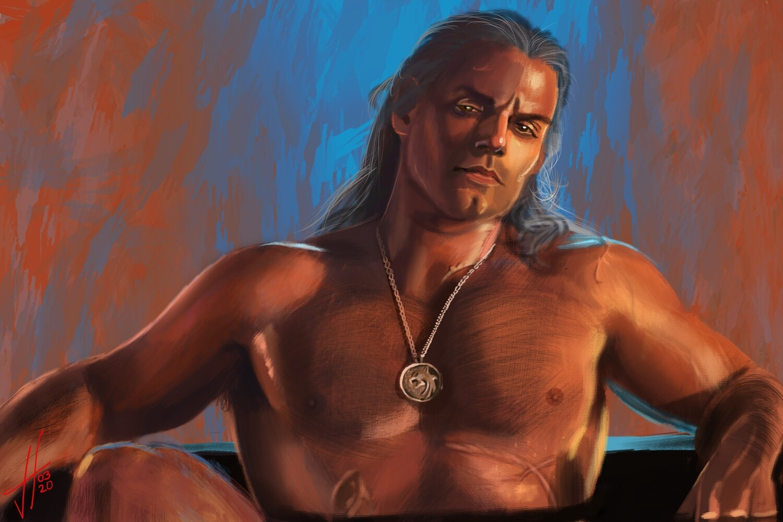 The Witcher Geralt Art Print