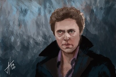 The Dead Zone Christopher Walken Art Print